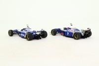 Minichamps 402 969701; Williams World Champion 1996/97 Set; FW18 Damon Hill, FW19 Jacques Villeneuve