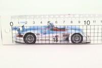 Minichamps 400 010918; Audi R8; 2001 ALMS Road Atlanta 2nd; Johansson & Lemarie; RN18