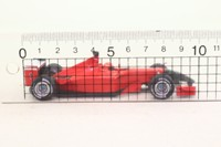 Hot Wheels 50213; Ferrari F2001 Formula 1; 2001 Italian GP 4th; Michael Schumacher; RN1