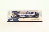 Minichamps; Williams FW22 Formula 1; 2000 UK Motor Show; Jenson Button; RN10
