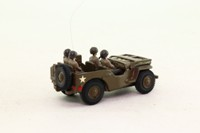 Kit Built #9; Willys Military Jeep 1/4 Ton; US Army