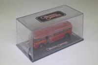 Corgi OOC OM41003; AEC Q Single Deck Bus; London Transport Central; Route 218 Walton On Thames, Portsmouth Rd, Long Ditton, Esher, Hersham; Door Open