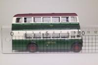 Corgi OOC OM43905; Daimler CW Utility Bus; Green Line; Rt 722 Hornchurch, Ilford, Becontree