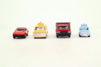 Dinky Toys 240; Dinky Way Gift Set; 4x Vehicles, Roads & Road Signs
