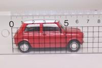 del Prado #02; 1970 Rover Mini Cooper; Red, White Roof