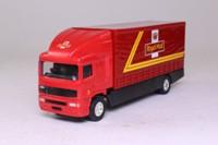 Corgi Classics 59513; ERF EC 1:64 Scale; Rigid Curtainside Truck; Royal Mail, Red/Black