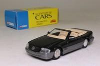 Solido 40; 1990 Mercedes-Benz 500SL; Dark Grey Metallic; Century of Cars Series #40