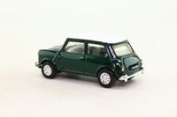 Corgi #01; BMC Mini Cooper (1:43); Green, White Roof