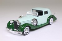 Solido 74; 1939 Delage D8-120; Coupe de Ville; Green & Dark Green