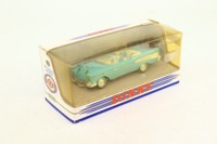 Dinky Toys DY-27/B; 1957 Chevrolet Bel Air Convertible; Blue, Blue & White Seats