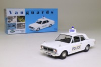 Vanguards VA04101; Ford Cortina MkII; Lotus, Hampshire Constabulary