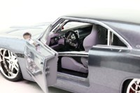Maisto 39091; 1969 Dodge Charger; Slf-Assembly Kit; Metallic Grey