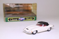 Corgi 96042; Jaguar E-Type; Closed Roadster: Cream, Black Top
