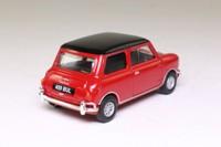 Vanguards VA02500; Morris Mini-Cooper S; Red, Black Roof