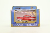 ERTL 2540; 1957 Chevrolet Bel Air Sports Coupe; Red