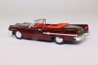 Dickie 331 5618; 1959 Chrysler 300E; Open Convertible; Maroon Metallic