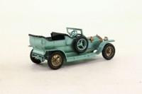 Models of Yesteryear Y-15/1; 1907 Rolls-Royce Silver Ghost; Met Green, Black Tyres
