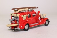 Models of Yesteryear YFE03; 1933 Cadillac V16 Fire Wagon; Red
