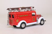 Models of Yesteryear YFE10; 1937 GMC Rescue Squad Van; Rescue Squad; FDNY 4th Precinct