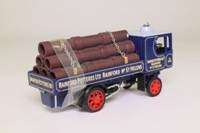 Matchbox Collectibles YAS09-M; 1929 Garrett Steam Wagon; Rainford Potteries, St Helens, Pipes Load