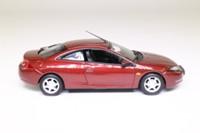 Minichamps 430 088020; 1998 Ford Cougar; Dark Red Metallic
