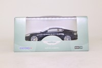 Oxford Diecast AMDB9002; Aston Martin DB9; Onyx Black