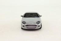 Auto Art 50201; 1999 Aston Martin DB7 Vantage; Metallic Skye Silver