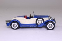 Models of Yesteryear Y-14/3; 1931 Stutz Bearcat; Blue, Cream Panels