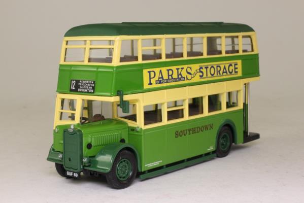 Corgi Classics CC25501; Guy Arab Bus; Southdown, 12 Brighton, Newhaven, Peacehaven, Saltdean