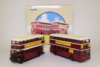 Corgi 97052; Devon General 2 Bus Set; Guy Arab & Leyland Atlantean