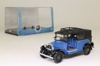 Oxford Diecast AT002; 1934 Austin Low Loader Taxi; Blue