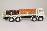 Corgi 97942; ERF V; 8 Wheel Rigid Flatbed with Chains; Flowers Brewery; Crates & Barrels Load