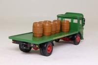 Corgi 97370; AEC Ergomatic Cab; 4 Wheel Rigid Flatbed, Federation Brewery; Barrel Load