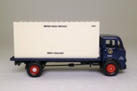 Corgi 25101; Leyland Mouthorgan Cab; 4 Wheel Flatbed with Container, BRS Meat Haulage