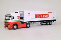 Cararama 00565; Volvo FH12; Fridge Trailer, K Line