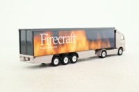Corgi; Volvo FH; Artic Box Trailer, Firecraft