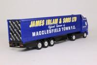 Corgi CP86904; Renault Premium; Articulated Curtainside Trailer, Macclesfield Town FC