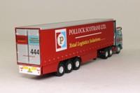 Corgi CC18001; Volvo FH Artic; Curtainside; Pollock Scotrans Ltd