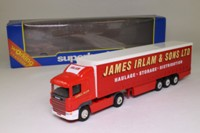 Corgi 59509; Scania R Cab, 1:64 Scale; Artic Curtainside; James Irlam & Sons Ltd