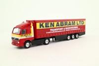 Corgi TY86710; Volvo FH 1:64 Scale; Artic Curtainside, Ken Abram Ltd