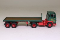 Atlas Editions 4 649 109; Scania 110 Artic; Flatbed Trailer, Eddie Stobart