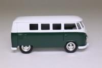 Days Gone Lledo DG086; Volkswagen Transporter Micro-Bus; Green & White, Diecast Collector Magazine