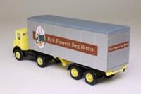 EFE 19401; Atkinson 4x2 Artic Twin Axle Boxvan; Flowers Keg Bitter Beer