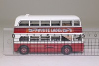 Corgi OOC OM45701; AEC Q Double Deck Bus; London Transport; Rte 77 Mitcham The Cricketers