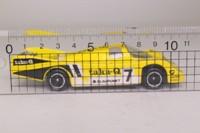 Corgi C100/2; Porsche 956; Yellow, Taka-Q, RN7