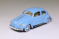 Solido 11; 1950 Volkswagen Beetle; Blue, Century of Cars Series #11