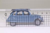 Solido 24; 1979 Citroen 2CV6; Grey-Blue