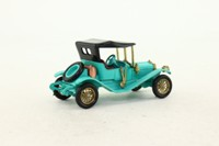 Models of Yesteryear Y-14/2; 1911 Maxwell Roadster; Turquoise, Red Seats