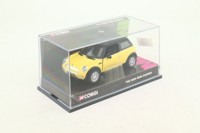 Corgi CC86504; 2001 BMW Mini-Cooper; Dakar Yellow