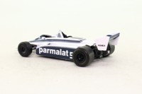 Atlas Editions 3128 013; Brabham BT49C Formula 1; 1981 German GP 1st; Nelson Piquet; RN5
